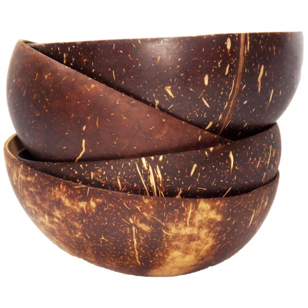 Coconut Bowl Smooth 4er Set