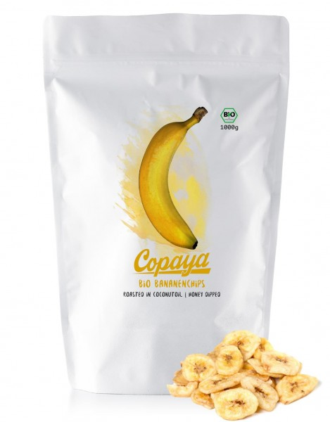 Bio Bananenchips 1000g